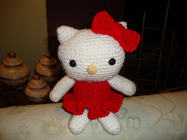 Hello Kitty crochet toy patterns