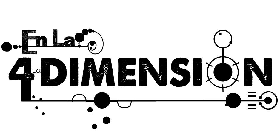 """Logo """"En la 4ta Dimensión"""""""