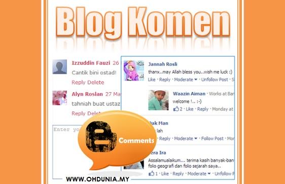 Mengapa Komen-Komen Pembaca Begitu Berharga Kepada Blogger?