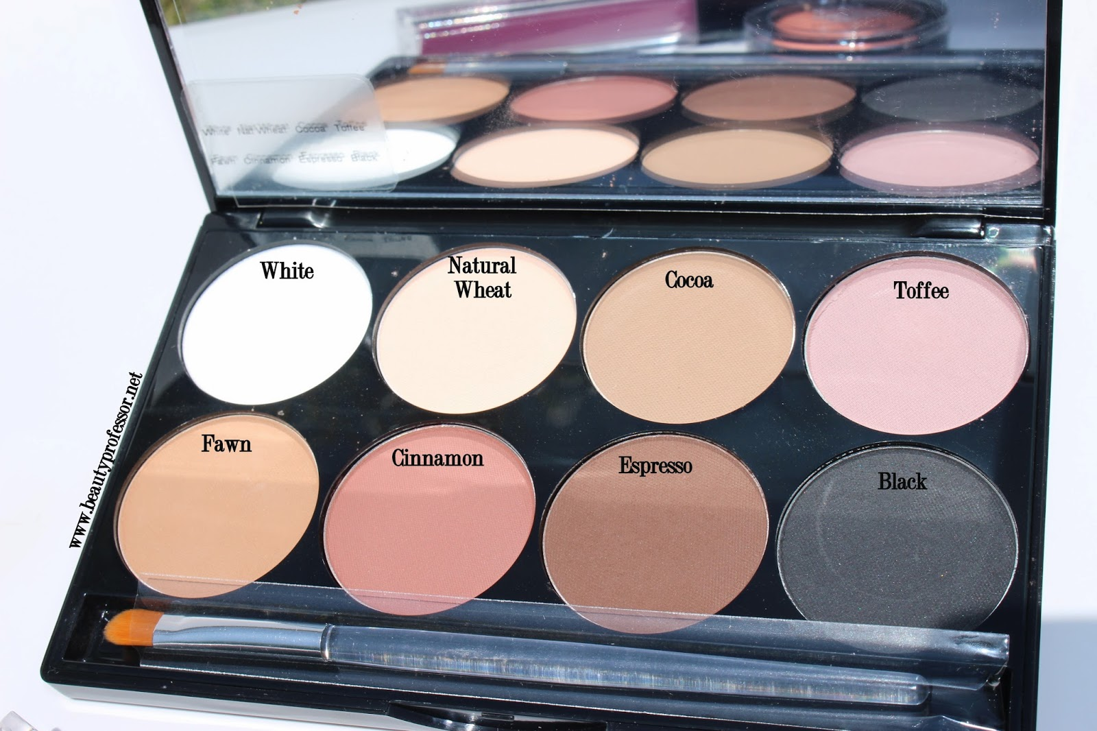 mehron eye power palette 207
