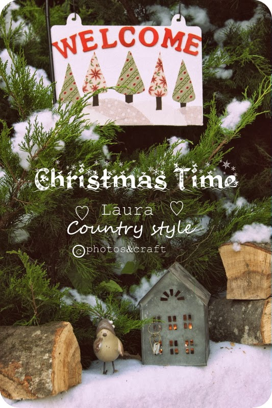 Laura country style christmas time