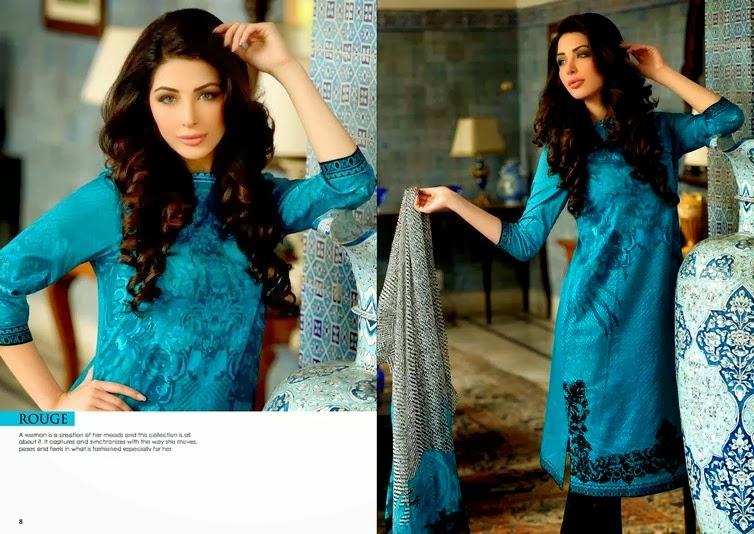 Sobia Nazir Summer Dresses 2014
