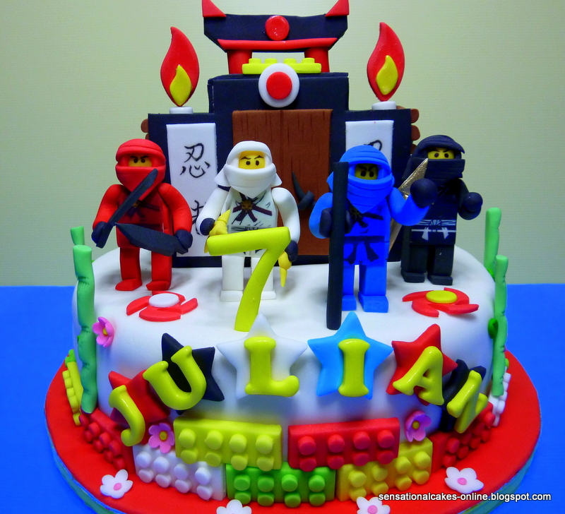 Ninjago Cake Singapore Tier Shrine Make Cakes Feedback