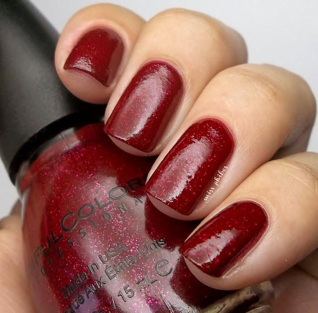 Sinful Colors Ruby Glisten
