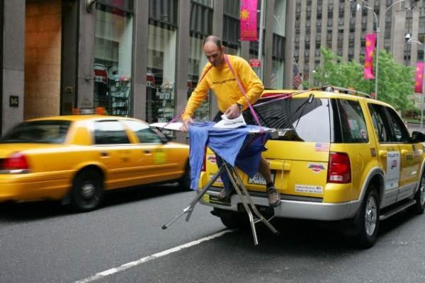 smešna slika: ironični taksista