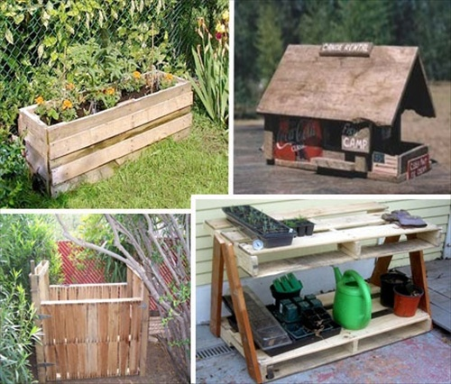 Wood Pallet Garden DIY Projects