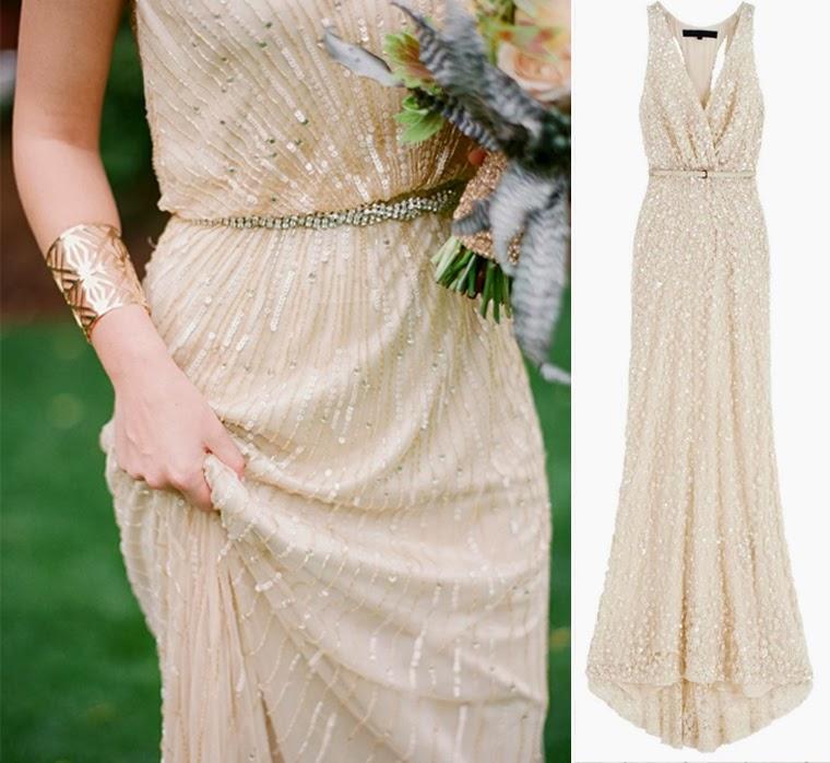 Inspiracje ślubne Suknia ślubna W Stylu Art Deco Retro