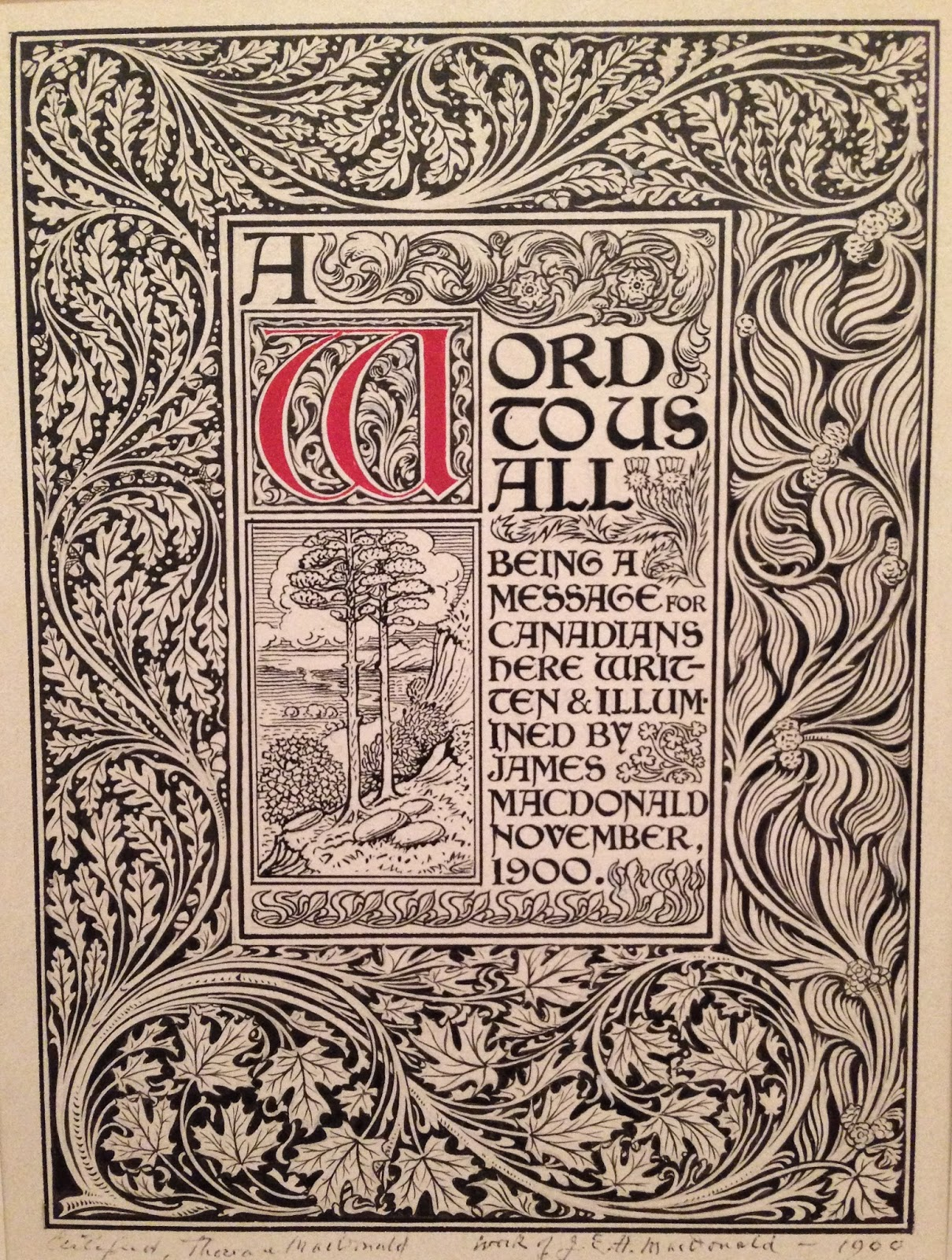 arts and crafts movement graphic design
