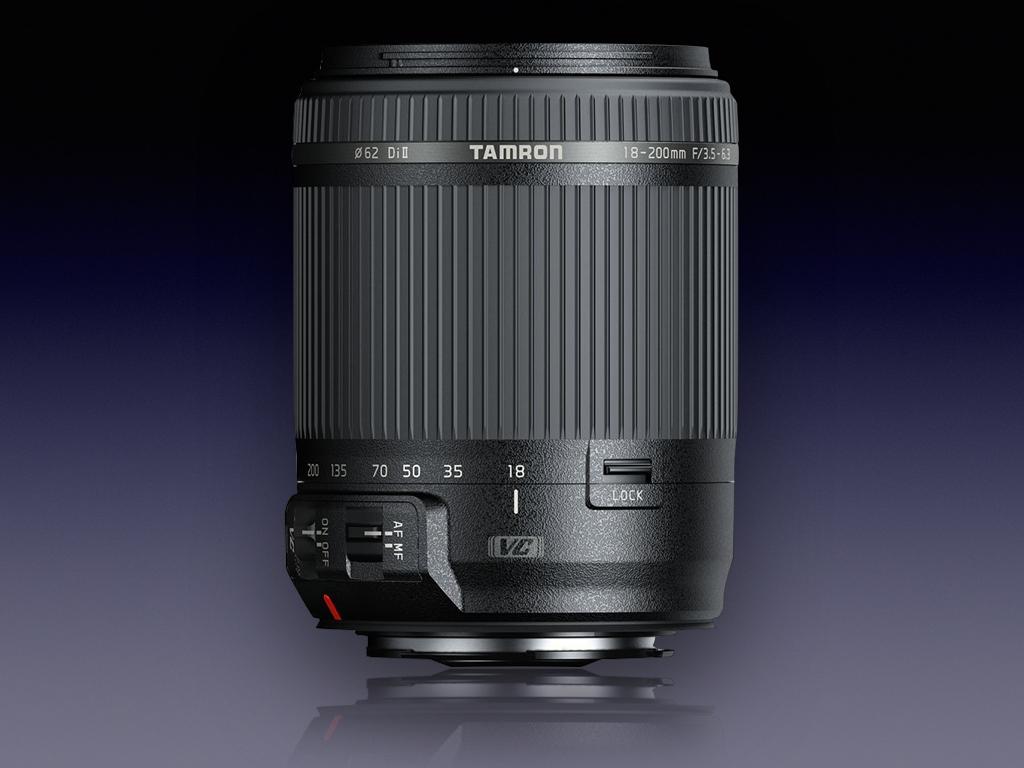 18 200mm F 35 63 Di Ii Vc Model B018 Tamron For Canon Nikon