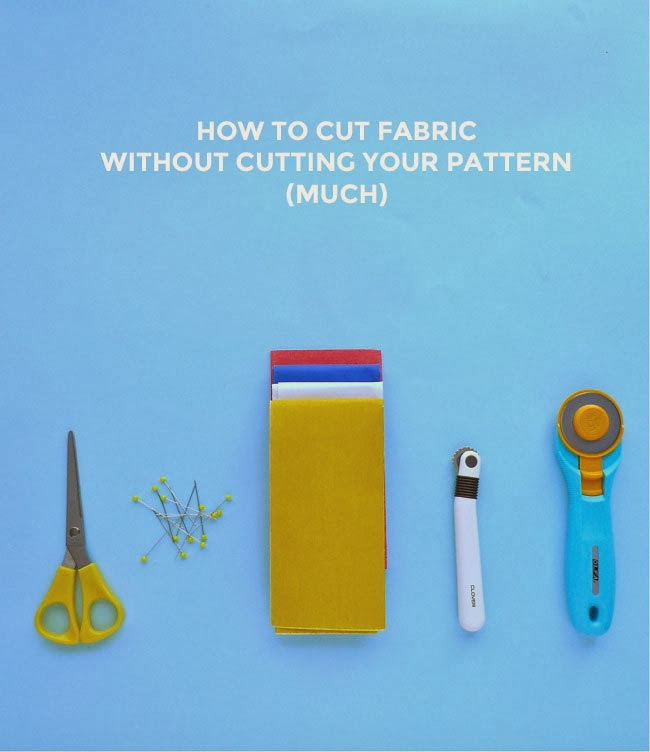 Tilly And The Buttons How To Cut Fabric Without Cutting Your