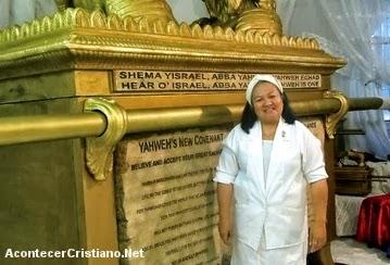 Réplica del Arca de la Alianza es donado a Israel