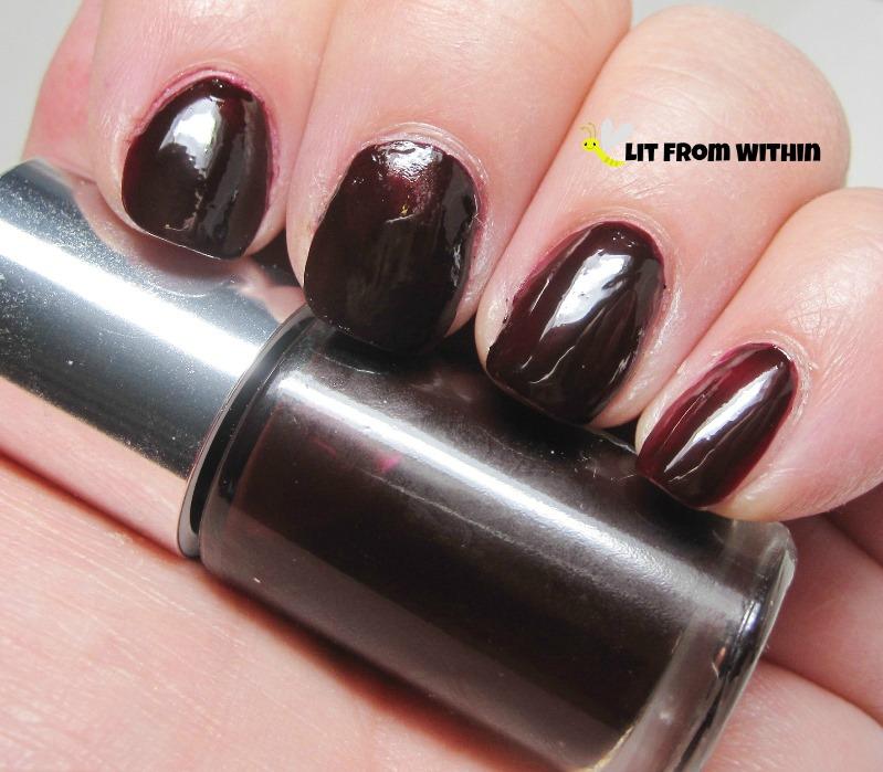 Clinique Black Honey nail polish