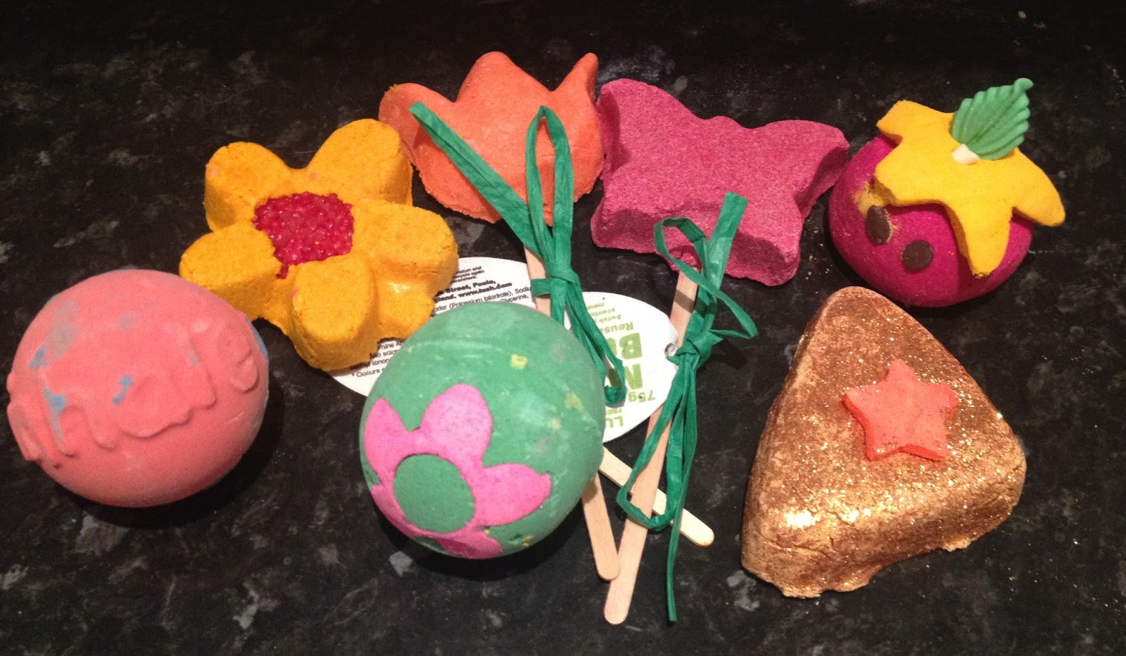 Lush's Mother's Day Range 2014.