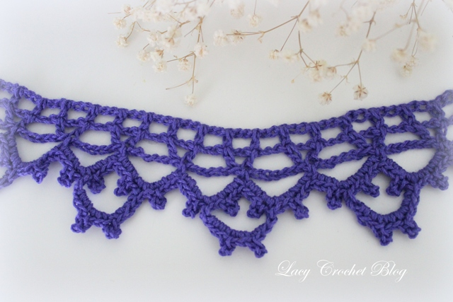 Crochet Lace Pattern For Edging : Lacy Crochet: Vintage Lace Crochet Edging