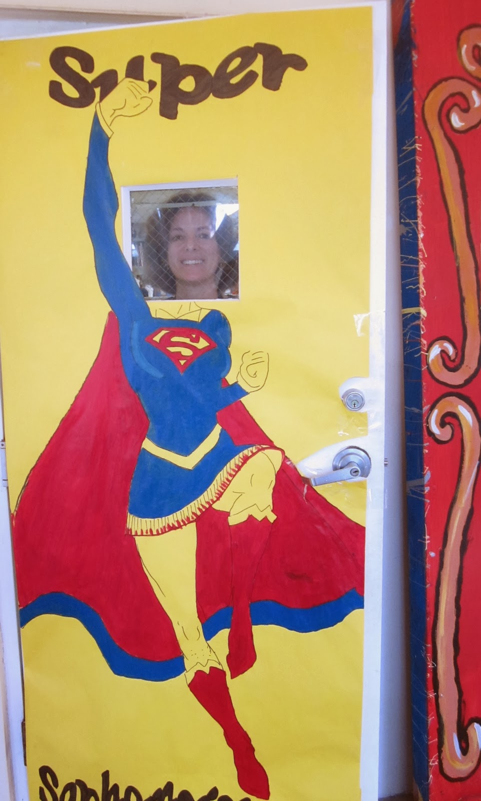 Super Heroes Decor For Classroom : Showing up for the muse october