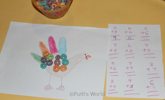 Thanksgiving Learning For Kids - Turkey Math