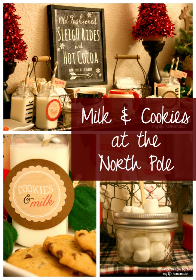 My Life Homemade Milk Cookies At The North Pole