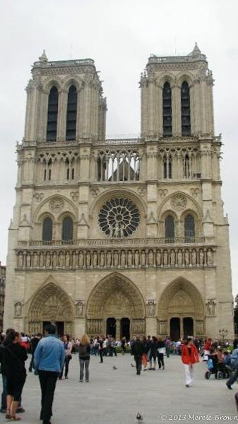 Norte Dame Paris France
