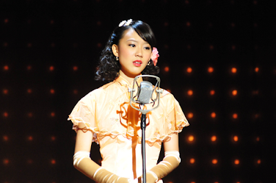 Julie Tan, 陈欣淇  chén xīn qí, the glammed up version.
