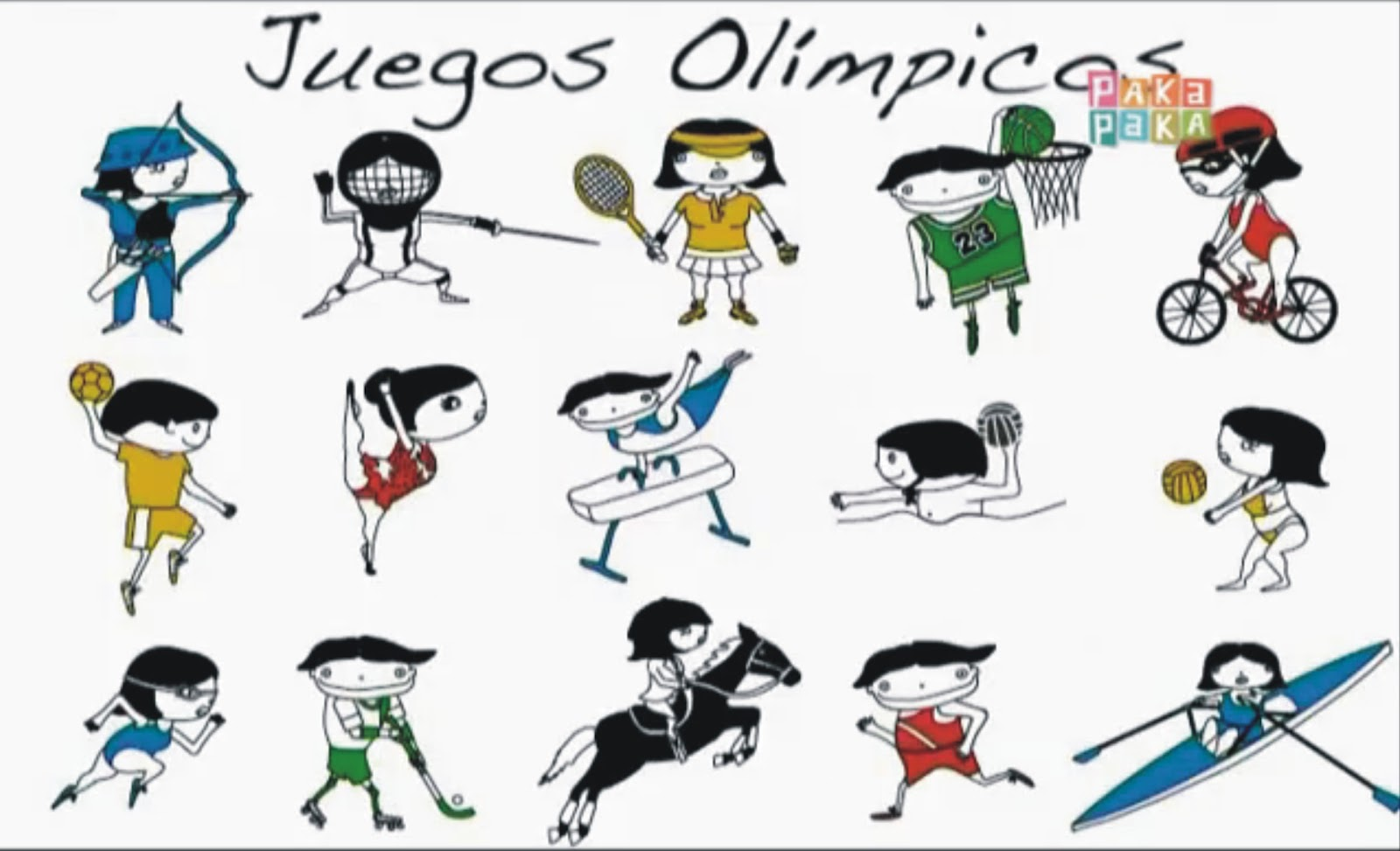 deporte de los juegos olimpicos: