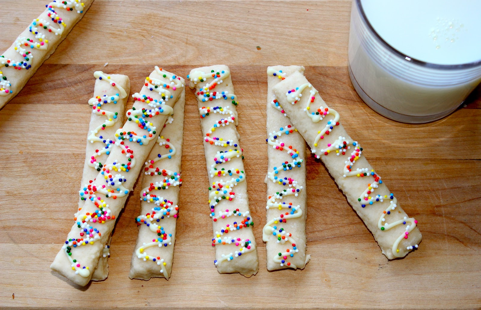360 Family Nutrition: Guilt-Free Vanilla Cookie Sticks