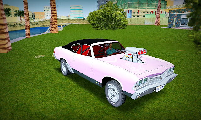 Chevrolet Chevelle Streetmachine 1968 GTA Vice City