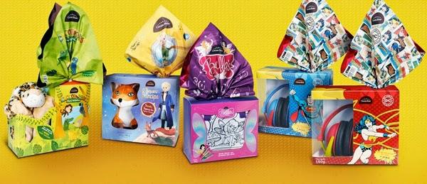 chocolate Cacau Show Páscoa linha Kids & Teen
