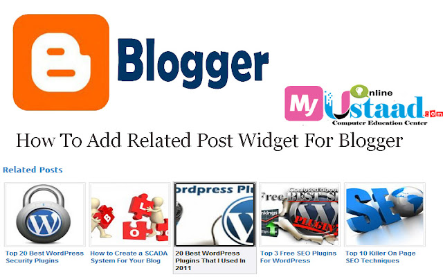 Add Related Post Widget For Blogger,simple related post widget for blogger