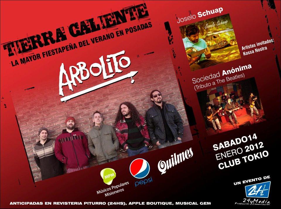 ARBOLITO EN POSADAS!!!!! SABADO 14 ENERO 2012