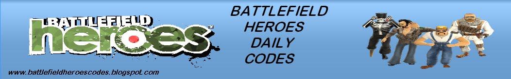 Battlefield Heroes Codes