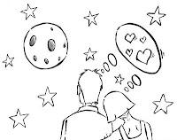 Desenhos para colorir de dia dos namorados parte 2