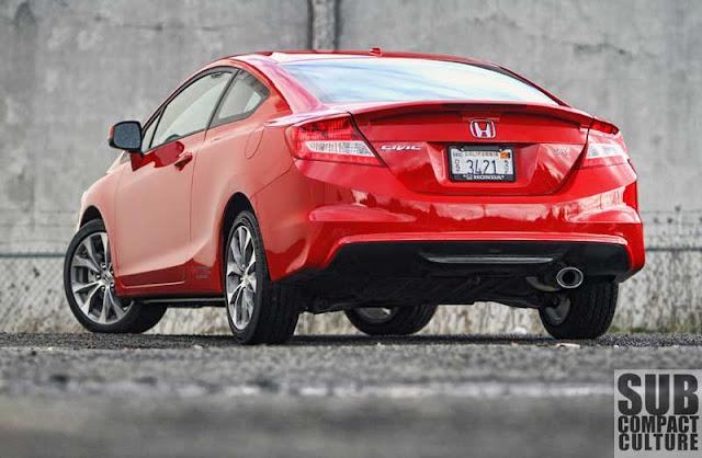 2012 Honda Civic Si Coupe - Subcompact Culture
