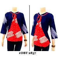 Blouse Batik Wanita DBT-2837