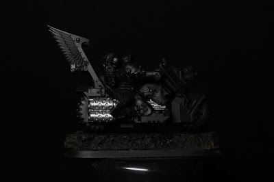 cero Engrasado de Vallejo Model Color en los Motoristas del Ala de Muerte de los Ángeles Oscuros