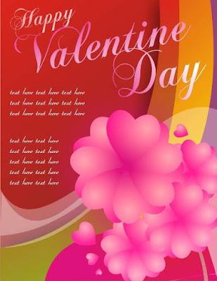 Desain Corel Draw Hari Valentine