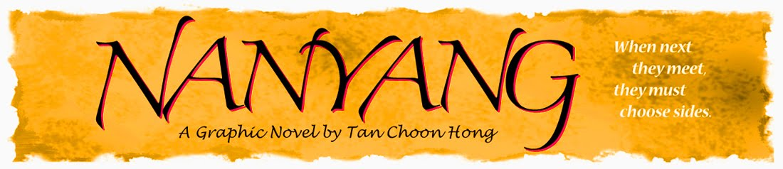 Nanyang, a Graphic Novel by Tan Choon Hong