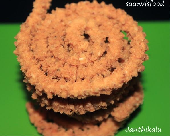 Janthikalu/Murukku/Chakli