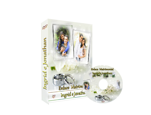 Capa de DVD Casamento