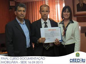 CERTIFICADO DE DOCUMENTAÇÃO IMÓBILIÁRIA.