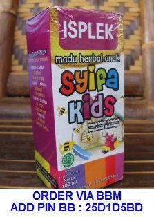 syifa kids isplek obat ispa dan plek paru pada anak
