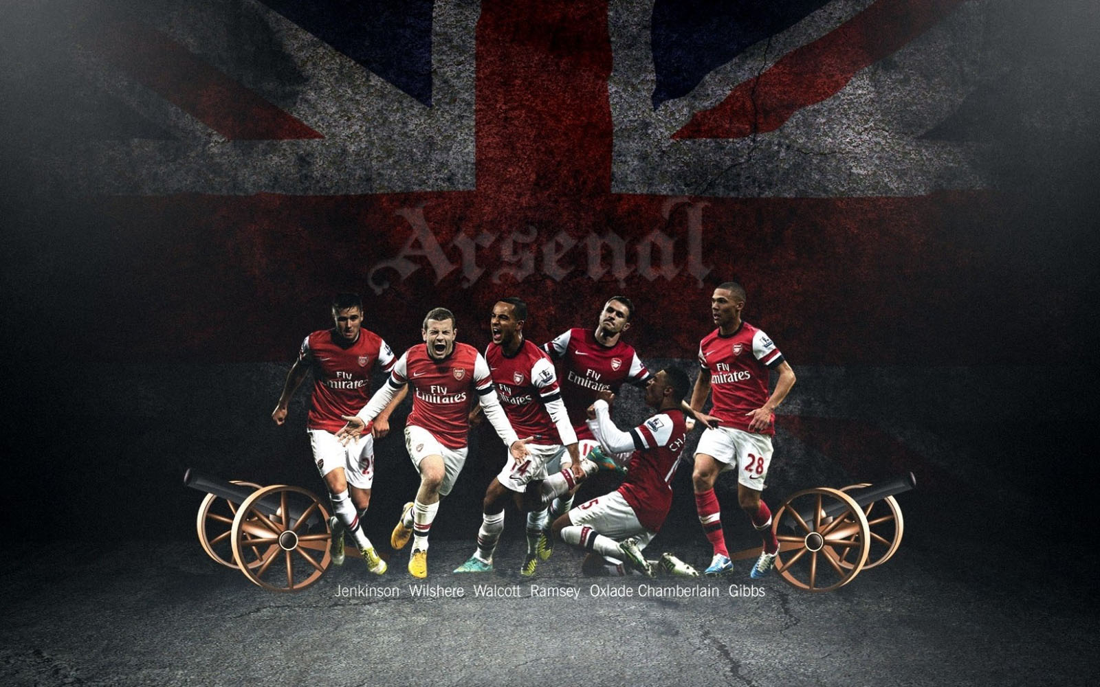 Arsenal 2013 The Gunners Premier League England Hd Desktop Wallpaper