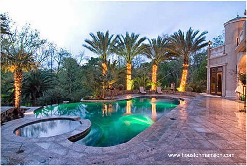 Arquitectura de casas mansi n en houston casa para for Casa de lujo minimalista y espectacular con piscina por a cero