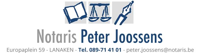 Notaris Peter Joossens - Lanaken