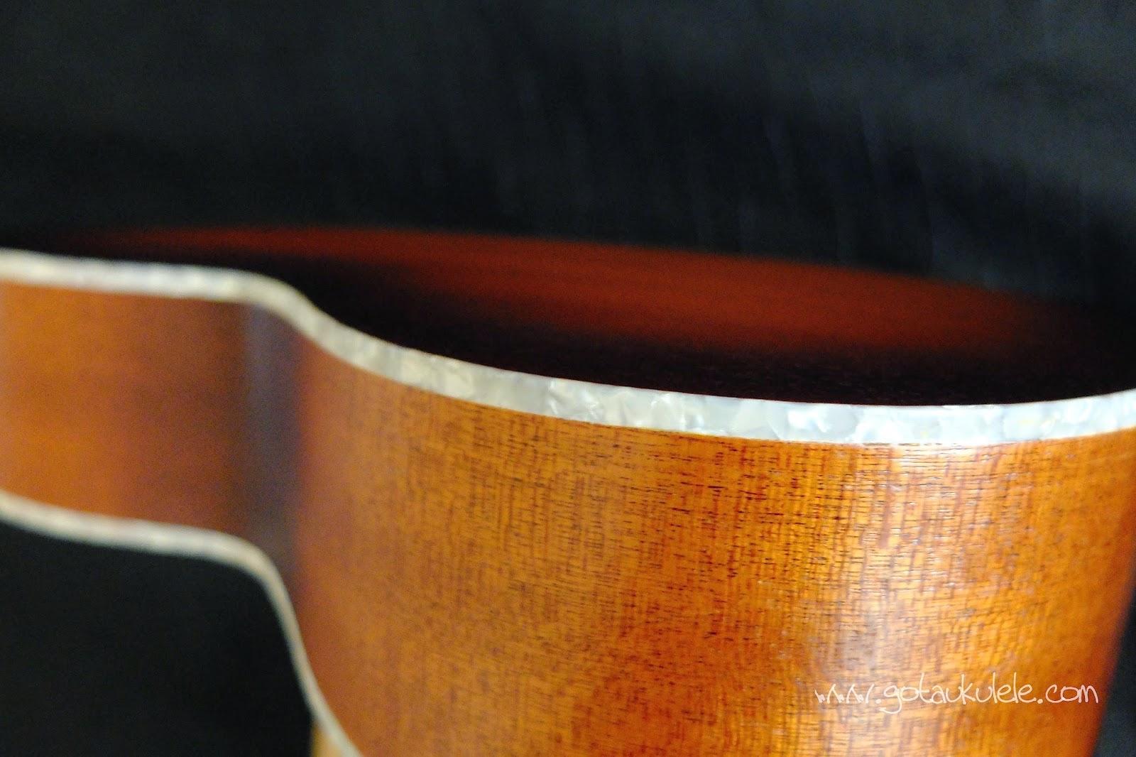 Kala KA-RES- CHR Tenor Resonator ukulele sides