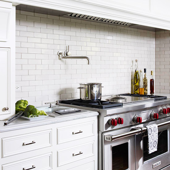 Modern Kitchen Backsplash 2015: New Home Interior Design: Kitchen Backsplash Ideas: Tile Backsplash Ideas