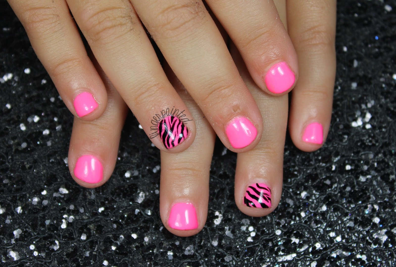 Nails For Kids Beautify Themselves With Sweet