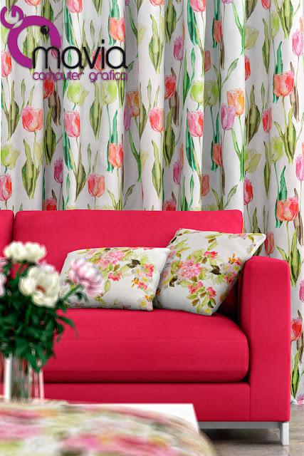 Arredamento di interni tessuti per interno per tendaggi divani pouf e sedie fotografia - Cuscini moderni per divano ...