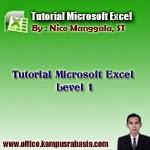 Cara, belajar, tutorial, microsoft, excel, office, cepat, mudah, level