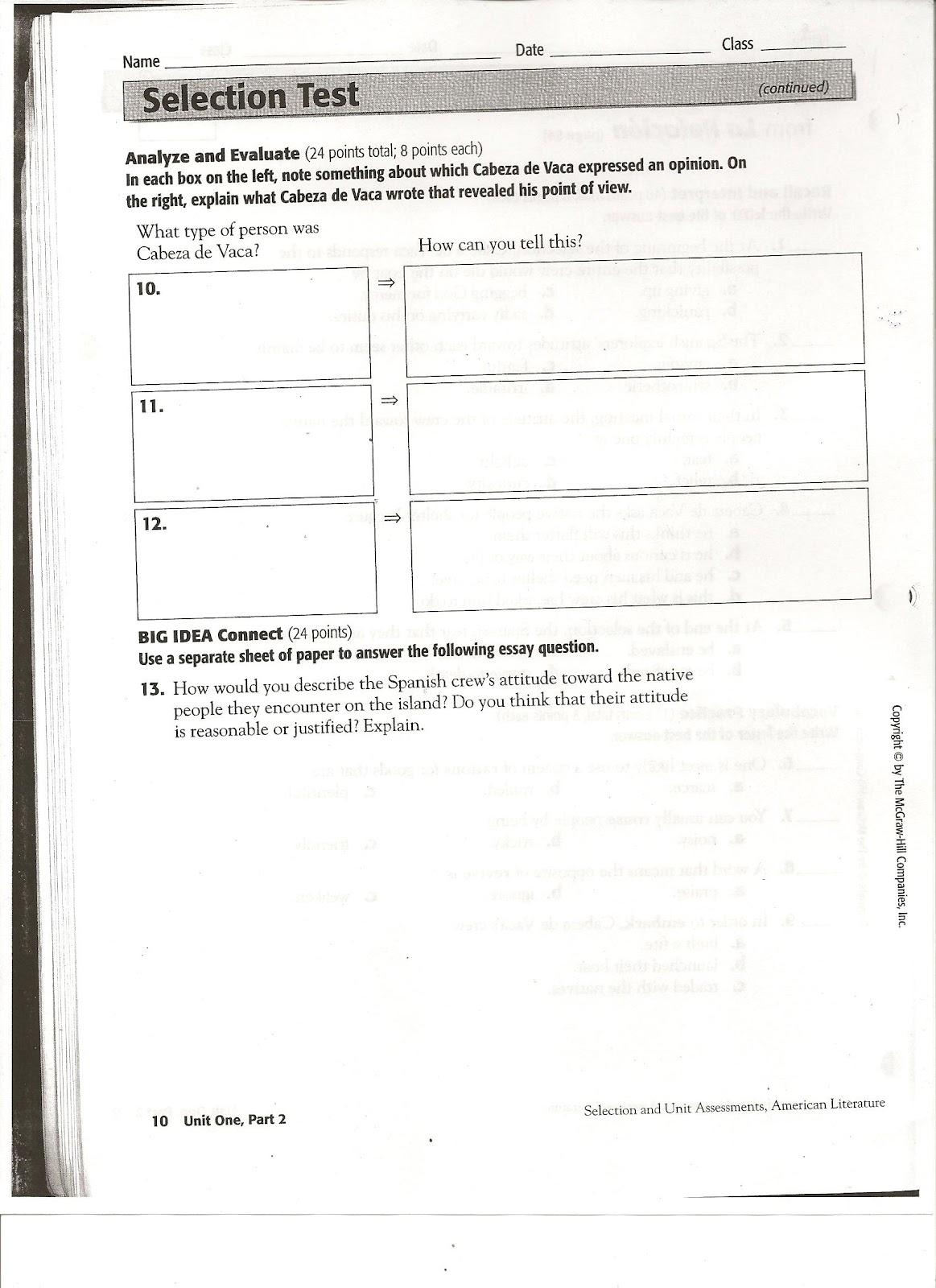 Miss Carden's Class: Vocabulary Development and Open-Book Test