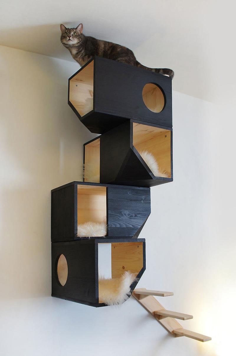 catissa una casa modular para gatos maria victrix. Black Bedroom Furniture Sets. Home Design Ideas